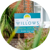 The Willows Dental Surgery Sign